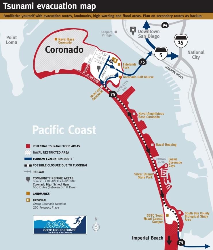 Coronado Map